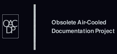 The Obsolete Air-Cooled Documentation Project